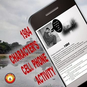 """If only the 1984 characters could communicate with each other... This is a creative assignment I designed to evaluate students' understanding of characters in 1984; however, it can be used with any character from literature or history...even current """"characters"""" in the news."""