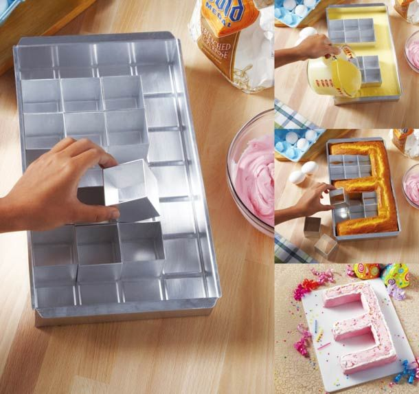 Alphabet Cake Pan – The modular cake mold | Ufunk.net
