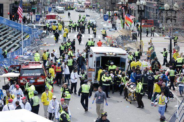 USA Boston bomb attack