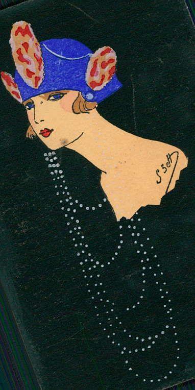 543 best art vintage art deco images on pinterest for Art deco illustration