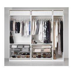 PAX Garderobeskap - 250x58x236 cm - IKEA