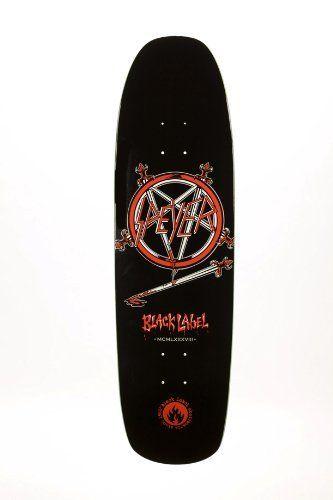 Black Label Wade Speyer Haunting Slayer Old School 8.9 Skateboard Deck by Black…