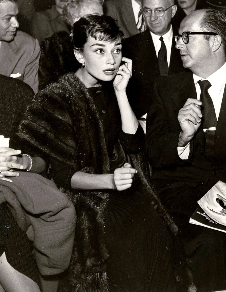 Audrey Hepburn. The ultimate icon.