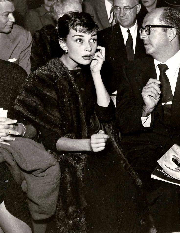 Audrey Hepburn. The ultimate icon.