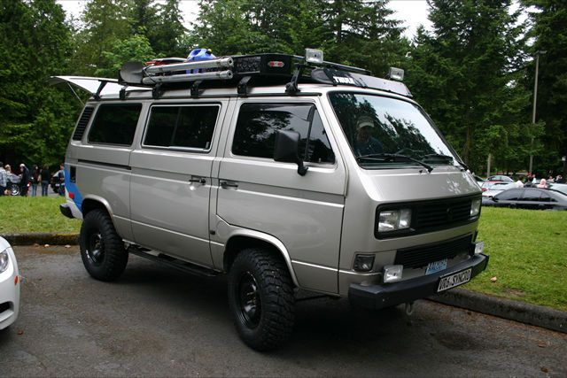 bad ass 4wd vw vanagon cool van pinterest subaru. Black Bedroom Furniture Sets. Home Design Ideas