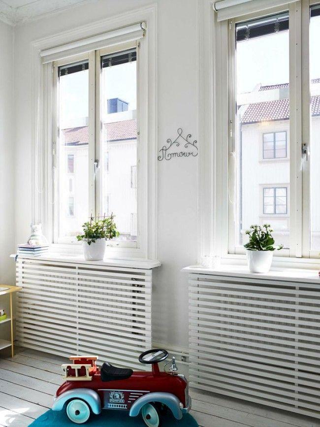 деревянные решетки на радиатор