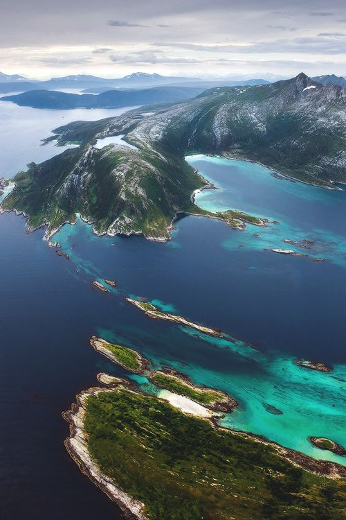 Senja, is Norway's second largest island