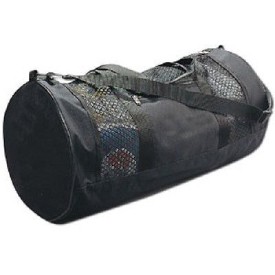 Plain-Black-Mesh-Gym-Gear-Duffel-Bag-Martial-Arts-Equipment-Karate-Supplies-TKD