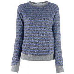 $175 T by Alexander Wang http://roanshop.com/womens-clothing/t-by-alexander-wang-striped-sweater.html