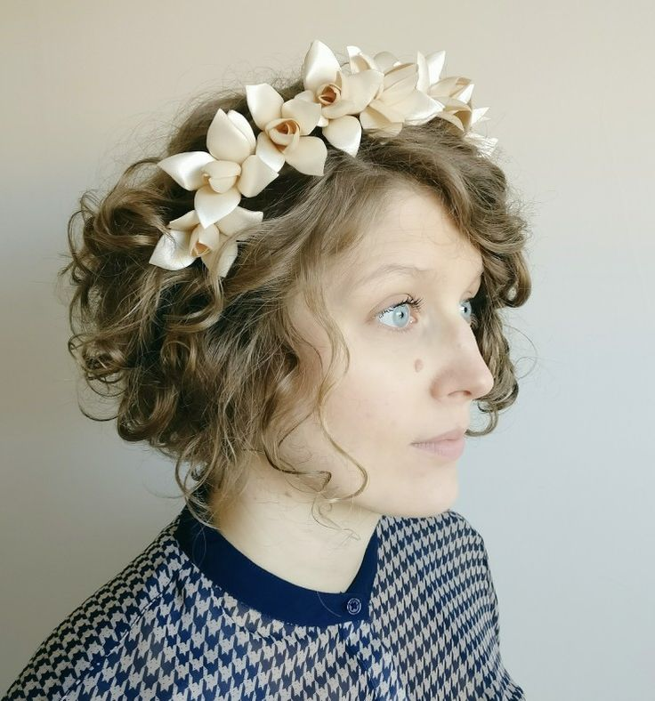 Very Vintage Fair Flower Hair Band Made By TheElephantJourney Available On Etsy Perfect For A