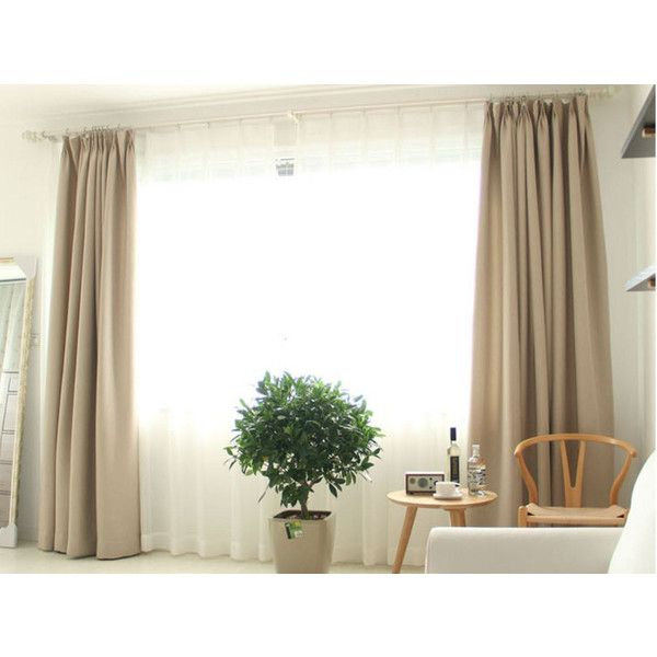 A pair of Tan Curtains, Heavy Weight Linen, Double Weave Woven High... (3.525.080 IDR) ❤ liked on Polyvore featuring home, home decor, window treatments, curtains, linen drapery, textured linen curtains, taupe linen curtains, tan linen curtains and mocha curtains