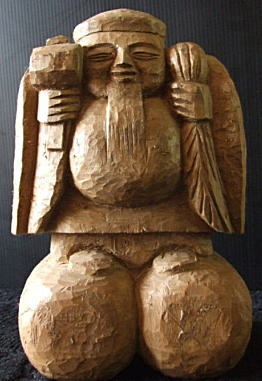 . Statues carved by Enku
