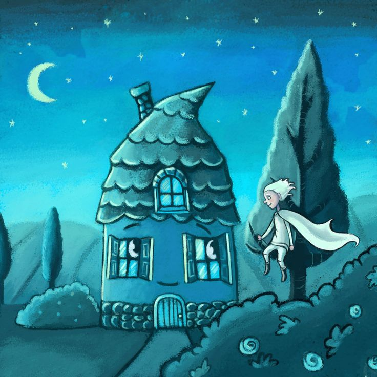 The Wind and the house friendship, Marzena Stanislawska on ArtStation at https://www.artstation.com/artwork/lEOJ5