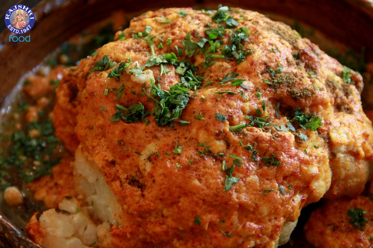 Tandoori Gobi (#Baked Cauliflower) #Indian #Vegetarian #Recipe by Anuradha Toshniwal