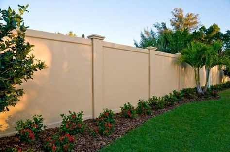 14 Best Masonry Fence Images On Pinterest Front Yards