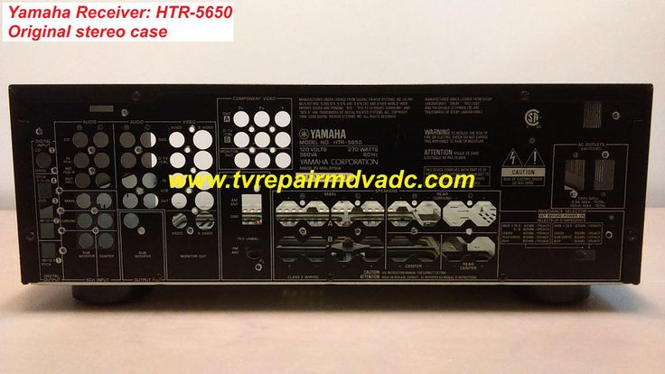 Yamaha HTR-5650. Receiver Complete Case Assembly Only. Important News #Yamaha