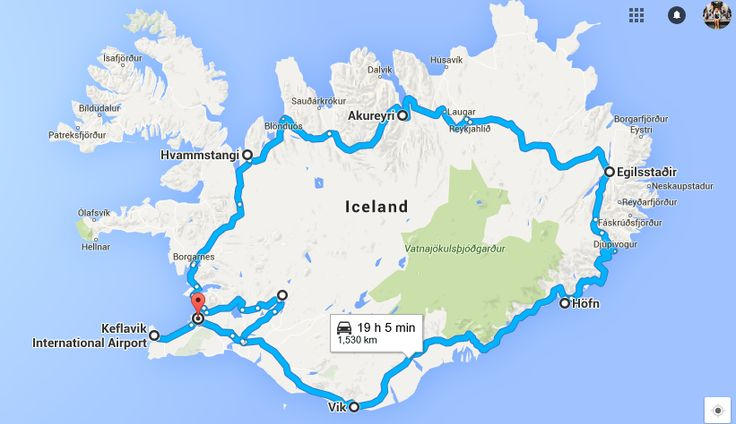 Iceland Road Trip - day by day list of things to do