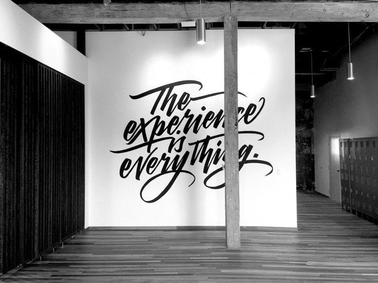 51 best Mural Sign Art images on Pinterest Hand lettering