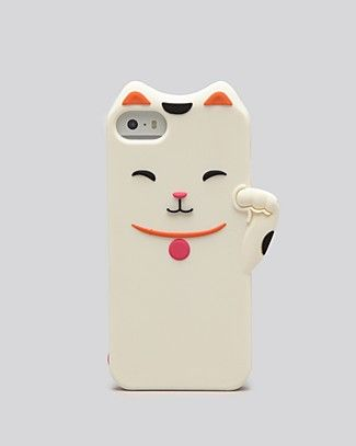 kate spade new york iPhone 5/5s Case - Silicone Cat | Bloomingdale's