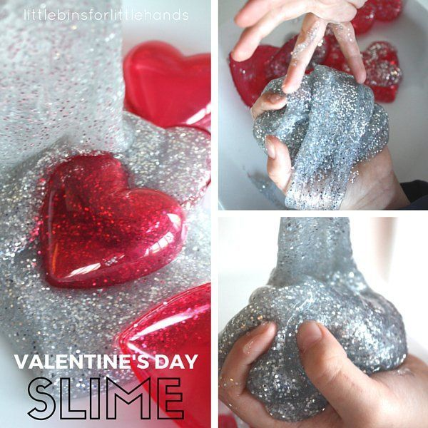 Make an awesome, easy, and inexpensive Valentines Day slime for a quick science lesson and cool sensory play. Use dollar store glue for inexpensive slime.