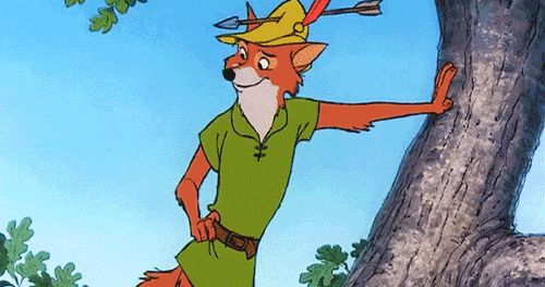 Robin Hood Fox | 5 Fandom Friday