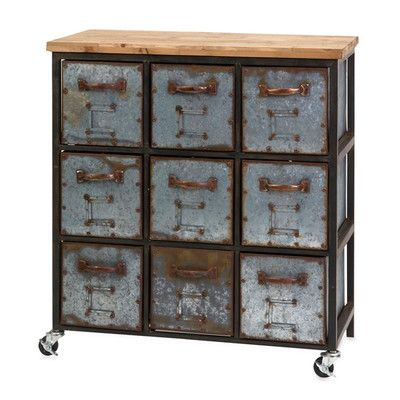 Best Berenson 9 Drawer Apothecary Accent Chest Vintage 640 x 480
