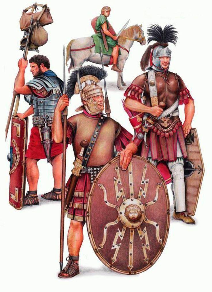 Римские солдаты служащие в Испании.