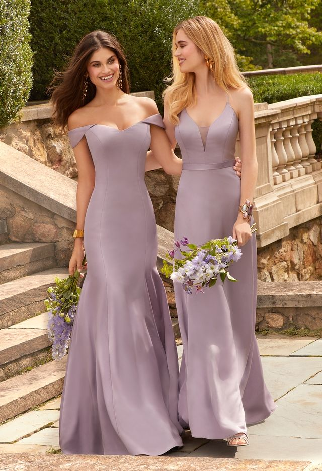 Crepe Off The Shoulder Mermaid Dress From Camille La Vie And Group Usa Beautiful Bridesmaid Dresses Dresses Mermaid Dress