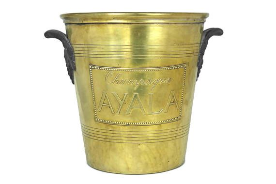French Champagne Bucket. Ayala Champagne Chiller. Argit Ice