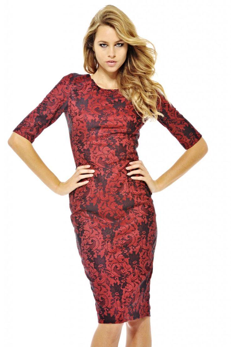 Vampy Lace Dress shopmodmint.com