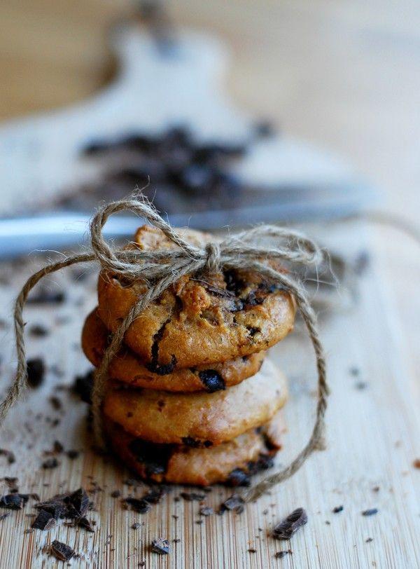 Peanut butter cardamom cookies (gluten free, no sugar added) - Kardemummacookies med jordnötssmör (glutenfritt, utan tillsatt socker)