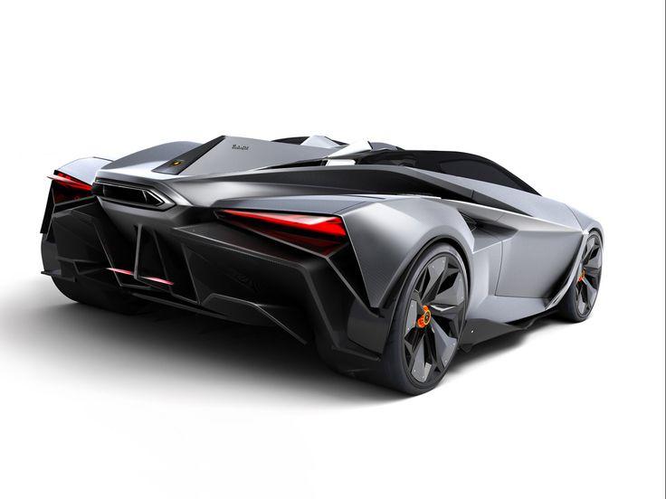 Lamborghini Perdigon Concept - Rear