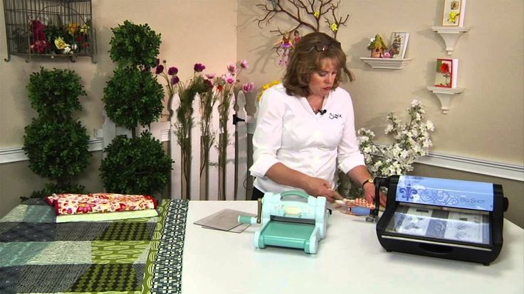 how to use sizzix die cutting machine