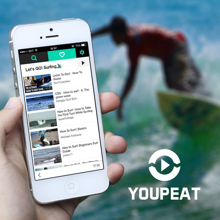 Let's go surfing! Create 'Go Surfing' Playlist in YOUPEAT Learn and Enjoy!  #YOUPEAT #playlist #surfing #gosurfing #summer #hotsummer #youtubeapp #youtubeplayer #videoplayer #surfer #wannabe