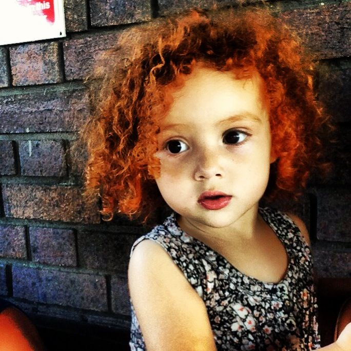 Beauty Baby Girl Ginger Curls All Things Bright And
