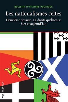 Coordonné par André Poulin, ce dossier sur les nationalismes celtes en Europe – Irlande, Écosse, Pays de Galles, Cornouailles et Bretagne – témoigne de leur diversité et de leur évolution contrastée. Alors que le Scottish National Party annonce au Parlement écossais son désir de tenir un référendum sur l'indépendance en 2014, ce tour d'horizon arrive à point.  Cote: JC 573.2 Q4N37 2012