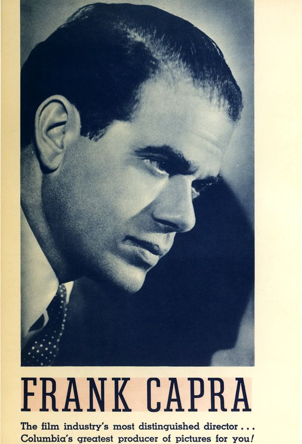 FRANK CAPRA | The Studio | Sony Pictures Entertainment Museum