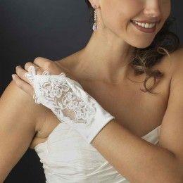 Bridal gloves Vivi - Georgia Dristila Accs