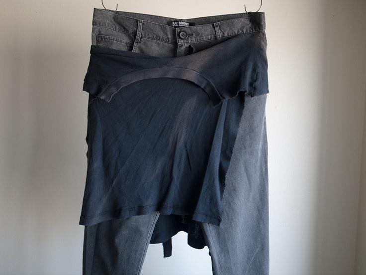 Raf Simons - SS04 Waist Wrap Pants