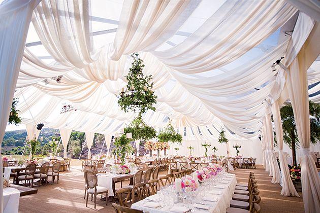 Tent Wedding Reception | Brides.com