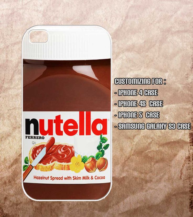 Two favourite things , Nutella and iPhones all in one #nutella #iphonecase #iphone