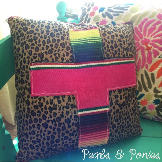 Cross applique on Leopard cotton fabric  Whip stitched on sides of pillow. 17 Best ideas about Leopard Bedroom Decor on Pinterest   Leopard