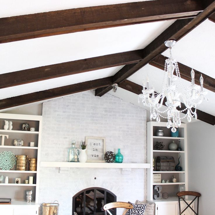 Best 25+ White Wash Fireplace Ideas On Pinterest