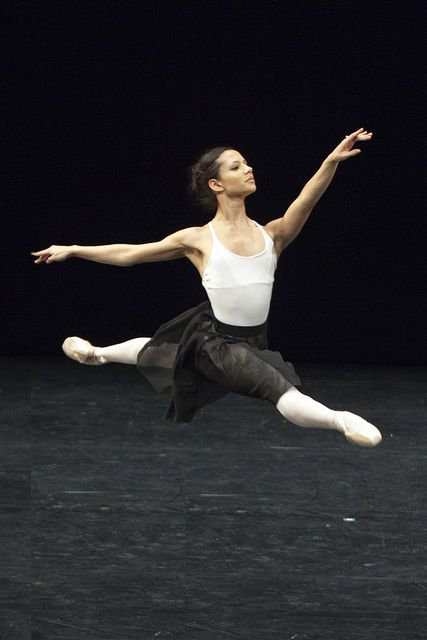 Francesca Hayward in Draft Works, The Royal Ballet © ROH/Andrej Uspenski, 2012 by Royal Opera House Covent Garden
