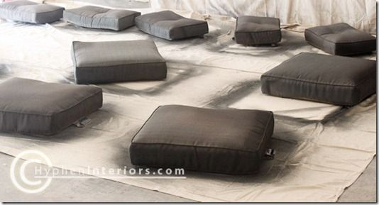 Spray Paint Patio Furniture Cushions How To Pinterest