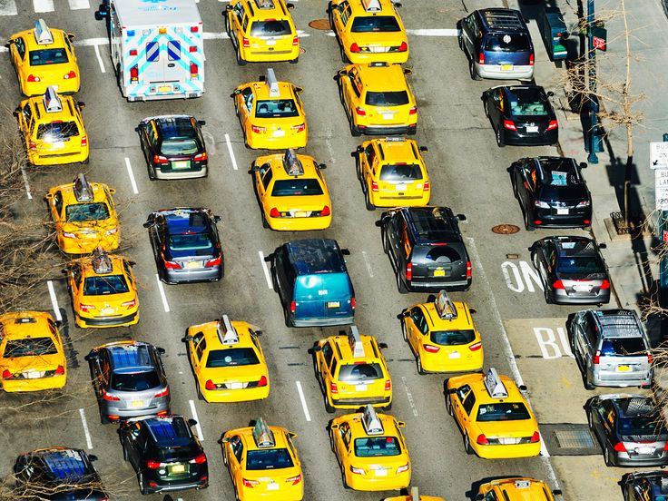 Reliably blue New York is going deep red—on the traffic maps.