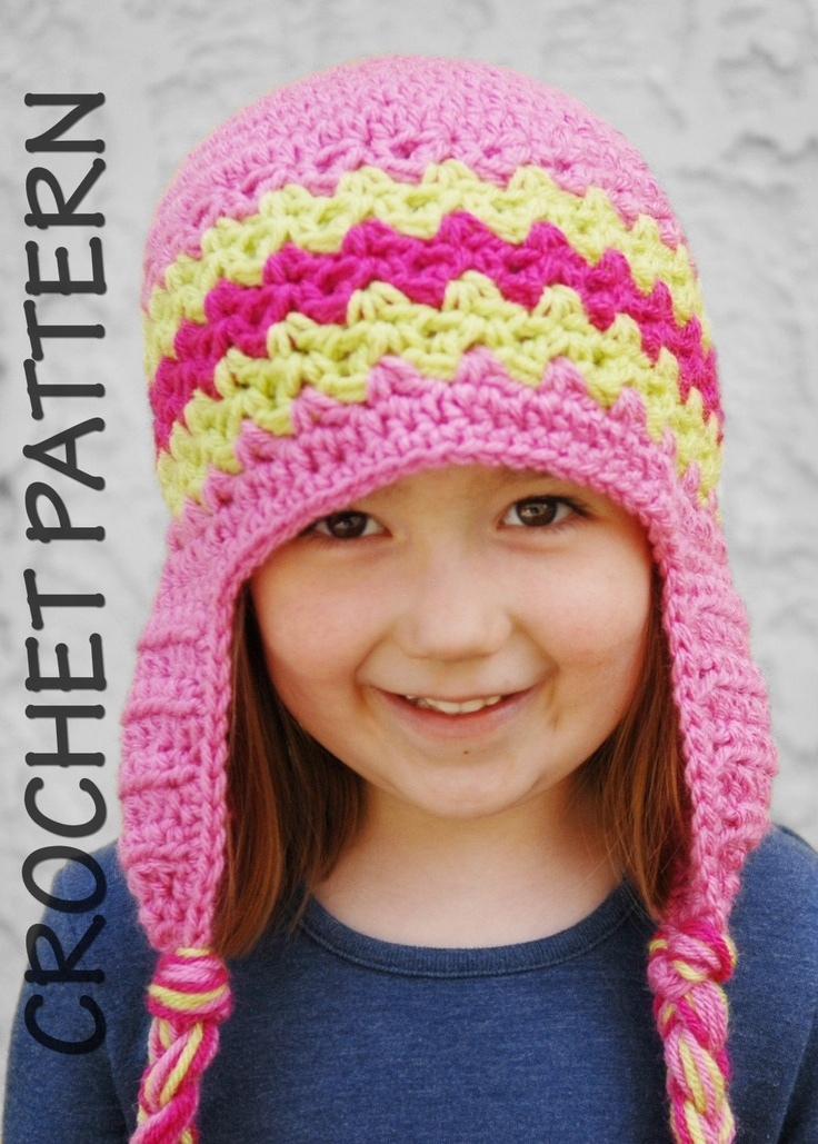Free Crochet Hat Patterns For 1 Year Old : 17 Best images about Crochet Hat Mitten Patterns on ...