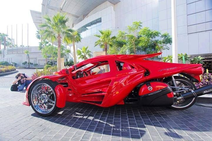 Lamborghini Trike Awesome Custom Mopeds And Scooters