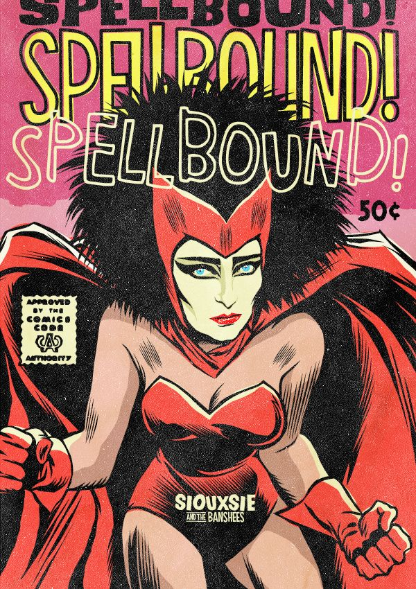 Siouxsie (and the Banshees) re-imagined as a Marvel character! Post-punk