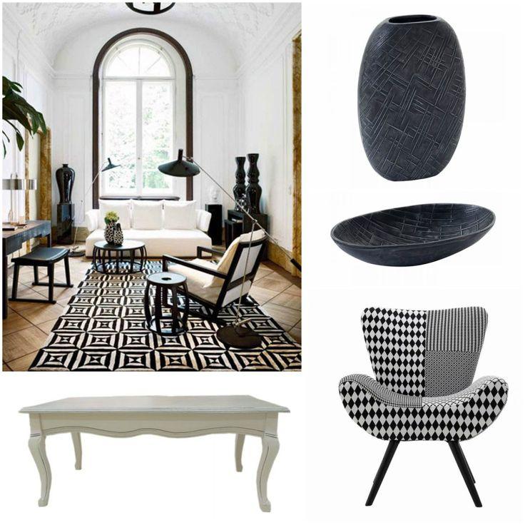 Η διακόσμηση του σπιτιού σε λευκή και μαύρη απόχρωση αποτελεί μία εξαιρετικά κομψή και διαχρονική επιλογή που ταιριάζει σε κάθε χώρο ανεξάρτητα από το αν είναι μεγάλος η μικρός.